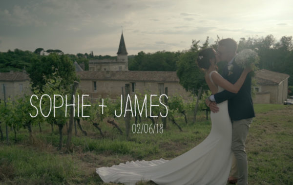 Sophie + James // Destination Wedding